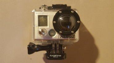 Go Pro kamera, Hero 2, sa kompletnom pratecom opremom. Perfektna. - Beograd
