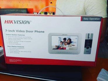 Bakı şəhərində Nehayet gozlenen malimiz geldi. HIKVISION Domofon 170$ -- 290 Azn.