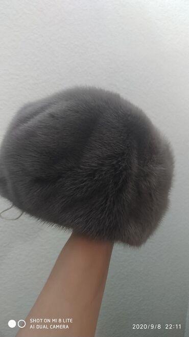 Женская одежда - Беш-Кюнгей: Продаю норковую шапку Состояние идеальное