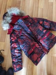 детская куртка зимняя в Кыргызстан: Бишкек (9 микр) детская зимняя куртка на 6-7дет