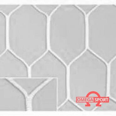 сетка для футбольного поля в Кыргызстан: Сетка шестигранная для футбольных ворот нить D=5Характеристики