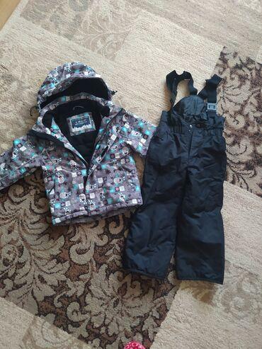 Зимняя куртка с комбезом б/у отличного качества на нашу зиму ростовка