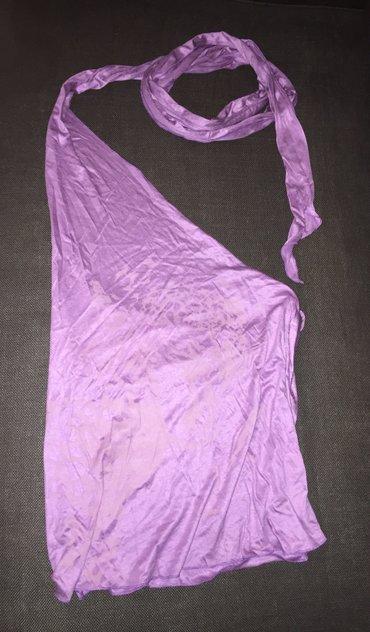 Nolita μωβ , εξώπλατη μπλούζα ,με έναν ώμο σε Υπόλοιπο Αττικής - εικόνες 5