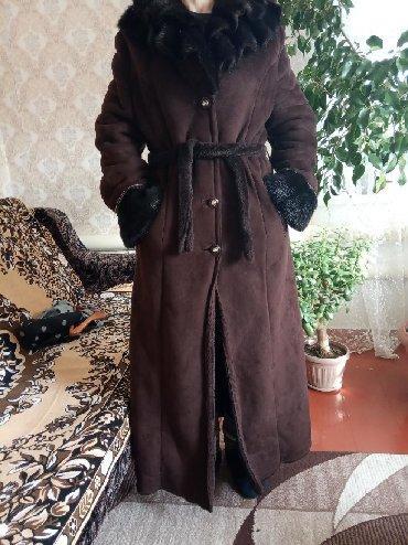 Женская одежда в Каинды: Дублёнка новая,размер 46-48