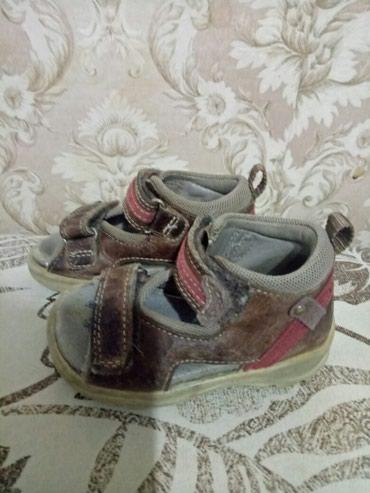 Продаю кожаные сандалики ортопедические. Фирма Ecco. Размер 20 в Бишкек