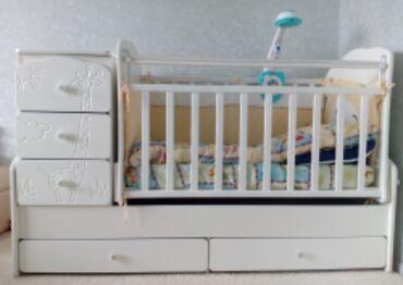 бу детские кроватки в Кыргызстан: Продаётся кроватка детская б/у цена 8000 сом