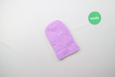Дитяча в'язана шапочка    Напівобхват голови: 17 см Висота: 21 см  Ста
