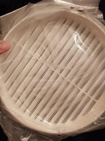 Ventilaciona resetka od PVC f 200mm sa mrezicom za zastitu od