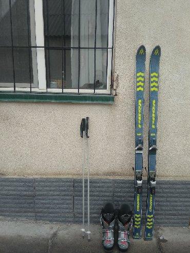 Лыжи - Бишкек: Размер ботинок 27.5 Лыжи в комплекте