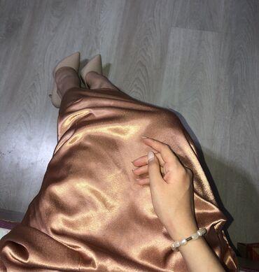 Очень красивая юбка, надевала все один раз Цвет розово-золотистый Разм