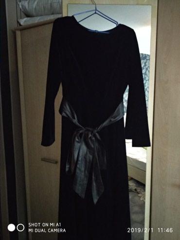 Платье длинное , одето 1 раз в Бишкек