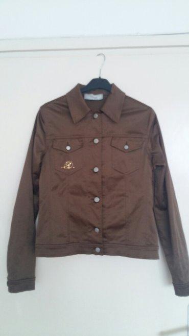 599 rsd braon satenska jaknica ocuvana velicine m - Nis