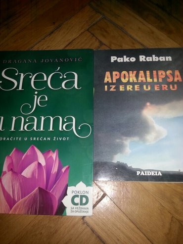 Knjiga -sreca je u nama sa cd -apokalipsa pako raban - Belgrade