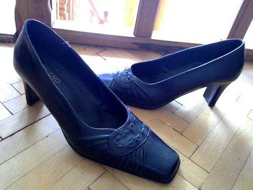 Odlicne crne udobne cipele , obuvene samo jednom. Gaziste ne mogu bas - Loznica