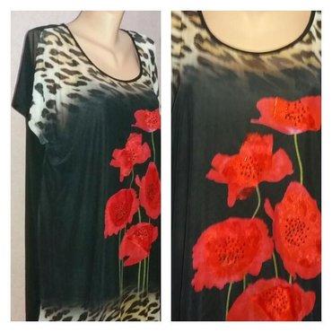 В наличии!!! платье шифон двойка. размер : хл. новое