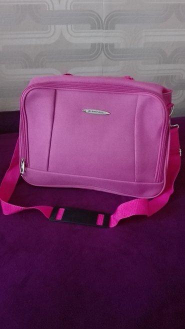 Prominent nova torba roze boje,dimenzije:sirina 38cm,duzina - Novi Sad