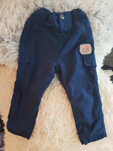 Decije pantalone futrovane u perfektnom stanju. Podesavaju se na dugme - Belgrade