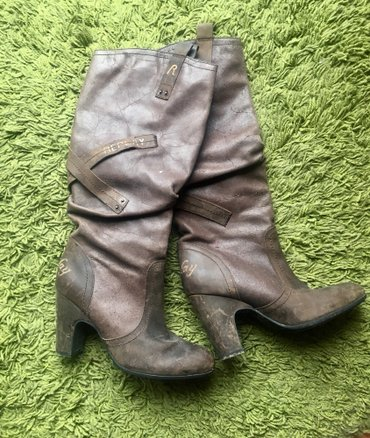 Replay cizme, nosene dva puta, kao nove, od prave kože, broj 39 - Beograd