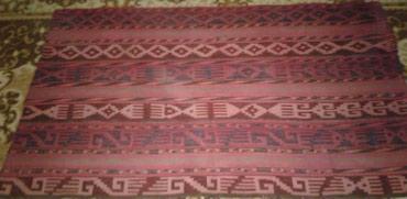 Ковры в Таджикистан: Коврик ручной работы. Натуральная шерсть. Очень старинный, в отличном