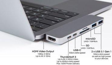 Bakı şəhərində Type c hdmi adapter. girisleri - usb 2.0/usb 3.0/hdmi/sd ve mikro