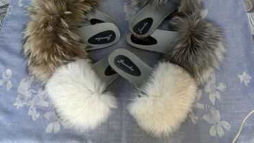 Krzno - Srbija: Anatomske papuče sa pravim krznom,rakun,lisica NoveU ponudi više vrsta