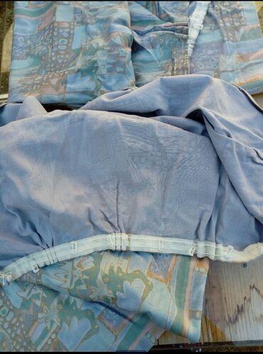 Drzaci za carape - Indija: Dva platna za prozore dim.116x126 Usivena traka za kacenje