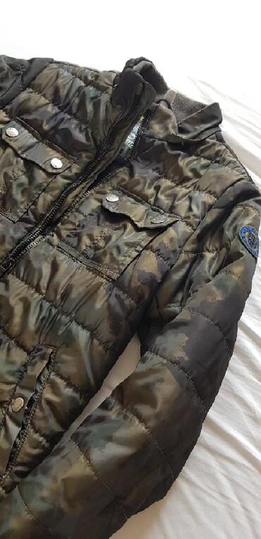 Dečije jakne i kaputi   Nis: IDEXE Zimska jakna za decake, sa kapuljacom koja se skida, topla i