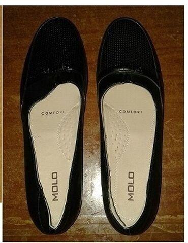 черные женские туфли в Кыргызстан: Продаю туфли - балетки женские, черного цвета, в наличии 1 шт