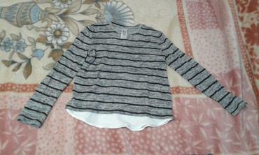Pamucna-engleska-bluza-domaci-proizvodac-br - Srbija: Bluza mekana nova 134/140 ili br. 10, duzina rukava je 50 cm, a bluze