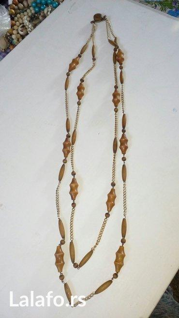 Elegantna ogrlica duza, bez ostecenja duzina 49cm - Cuprija