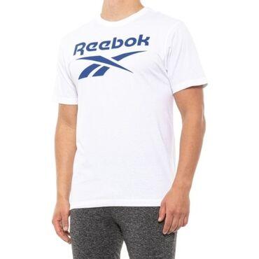 Мужская футболка ReebokCore Graphic T-Shirt 60%cotton, 40%pilyester
