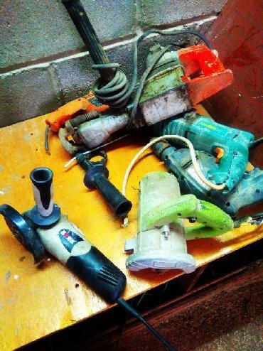 Другие инструменты - Сокулук: Куплю электро инструмент б у не рабочие по скупочной цене. Сокулук