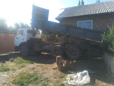 На трёх положениях поднимается   КамАЗ селхозник хорошем состоянии