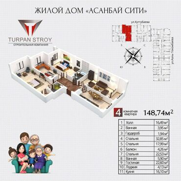 Apartment for sale: 4 bedroom, 149 sq. m