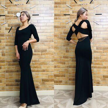 шикарные вечерние платья в пол в Кыргызстан: Шикарное платье в пол. одевала всего один раз на мероприятие. брала за