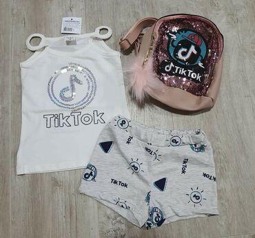 Majica+sorc+ranac Tik-tok 12 Sve za 2100 din