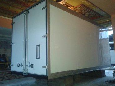 Изотермический фургон с нуля до установки в Ош