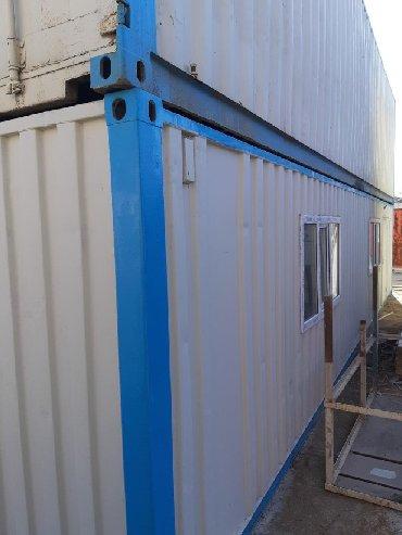 konteynerdən mağaza - Azərbaycan: 12 m və 6 metrelik konteynerlər satılır. Ayrıca konteynerdən ofis,anb