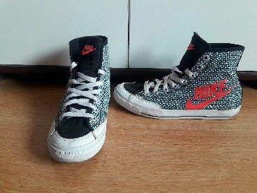 Ženska patike i atletske cipele   Sremska Mitrovica: Nike original patike broj 38,5 kao nove, kupljene u Italiji u Nike