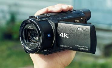 Видеокамеры в Кыргызстан: 4K Sony FDR-AX53 (Новейшая версия после ax33 )теги: sony ax53, ax53