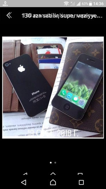 Bakı şəhərində Apple iphone  4s, 16 liq yaddas, super veziyyyeti,