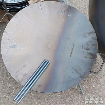 Tanjirace-talandarePrecnik 50 cm.Visina 25 cm.Debljina 3 mm.Nogari se