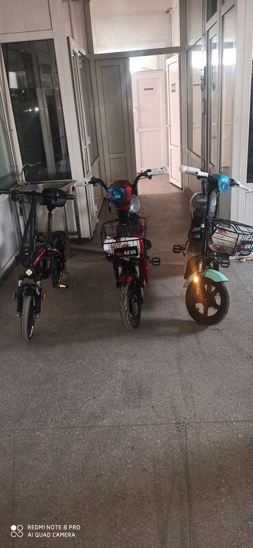 трехколесный скутер для доставки в Кыргызстан: Продаю электровелосипеды электромопеды двухколёсные пассажирские и