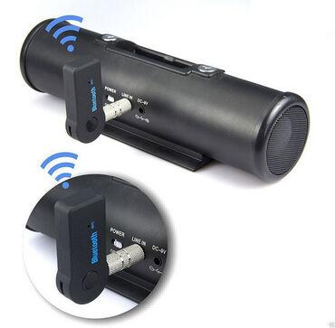 Bluetooth-приемник AUX 3,5 ммМатериал изделия: пластик + металлЦвет