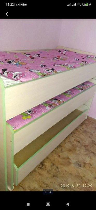 Детская Кровать пенал, в очень хорошем состоянии, без матрасов