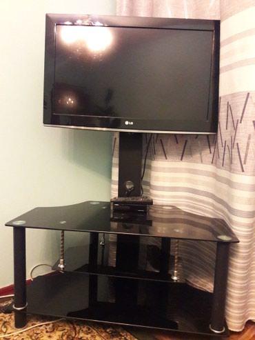 Телевизор LG с подставкой и приставкой (+антенна) в Бишкек