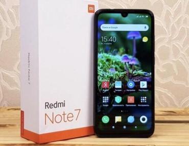 xiaomi black shark цена в бишкеке в Кыргызстан: Б/у Xiaomi Redmi 7 64 ГБ Черный