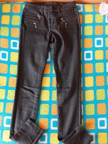 Mac-sive-farmerke-b-o - Srbija: Sive farmerke, nošene par puta, veličina XS