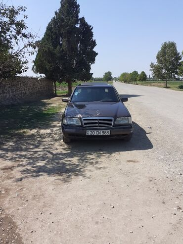 Avtomobillər - Dəliməmmədli: Mercedes-Benz C 200 2 l. 1995 | 423069 km