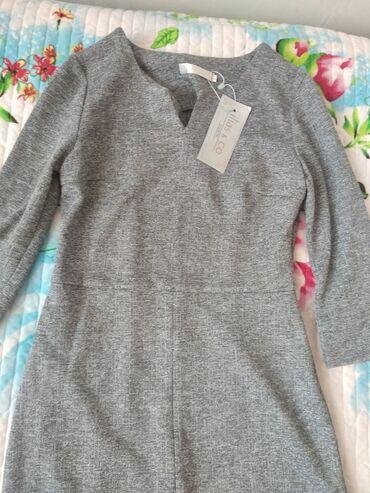Платья - Состояние: Новый - Кок-Ой: Продаю новое платье очень красиво смотрится. Размер 42 продаю за 800с